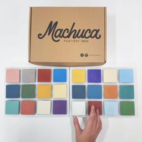 Machuca Tile Swatch Box